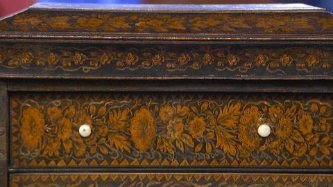 Antiques Roadshow -- Appraisal: Regency Decoupage Jewel Cabinet, ca. 1810