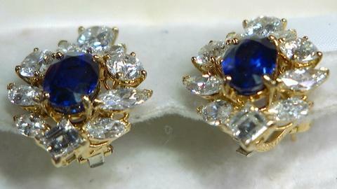Antiques Roadshow -- S17 Ep11: Appraisal: Cartier Paris Saphire & Diamond Earring