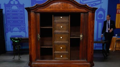 Antiques Roadshow -- S17 Ep12: Appraisal: German Cabinet & Chest, ca. 1750