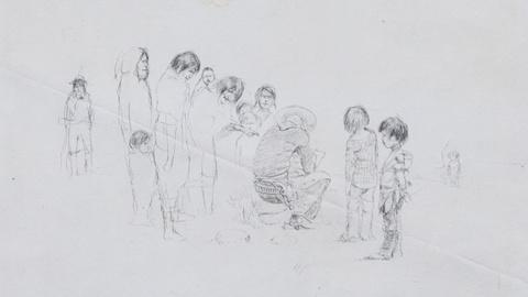 Antiques Roadshow -- S17 Ep13: Appraisal: 1888 Charles Russell Drawing