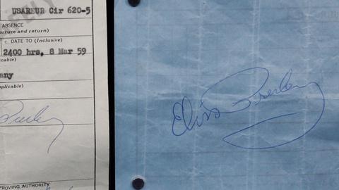 Antiques Roadshow -- S17 Ep13: Appraisal: 1959 Elvis Presley Autographs
