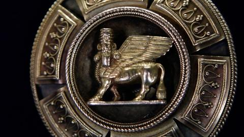 Antiques Roadshow -- S17 Ep13: Appraisal: Gold Archeological Revival Brooch, ca.