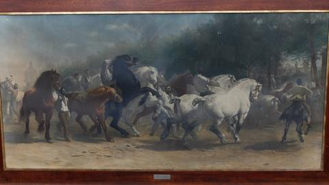 "Antiques Roadshow -- S17 Ep14: Appraisal: Rosa Bonheur's ""The Horse Fair"" Print"