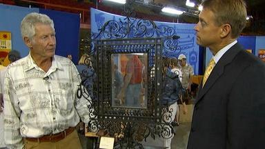 Appraisal: 1893 Wrought Iron Exhibition Piece