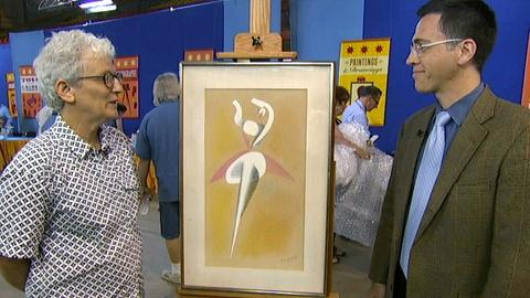 Antiques Roadshow -- S17 Ep14: Appraisal: Alexander Archipenko Work on Paper, ca.