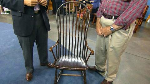 Antiques Roadshow -- S17 Ep14: Appraisal: Early 19th C. Rocking Windsor Armchair