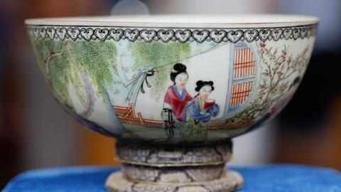 Antiques Roadshow -- S17 Ep15: Appraisal: Chinese Enameled Porcelain Bowl, ca. 19