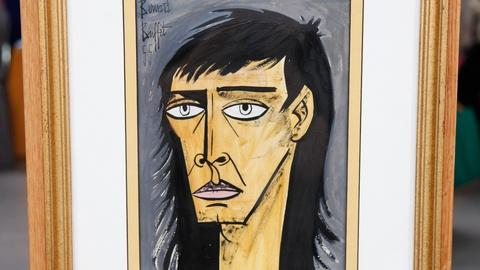 Antiques Roadshow -- S17 Ep16: Appraisal: 1955 Bernard Buffet Portrait