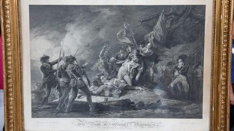 Antiques Roadshow -- Appraisal: 1798 John Trumbull Print