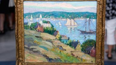 Appraisal: Fern Isabel Coppedge Oil, ca. 1925