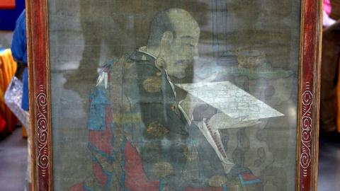 Antiques Roadshow -- S17 Ep17: Appraisal: Early Ming Dynasty Ink on Silk