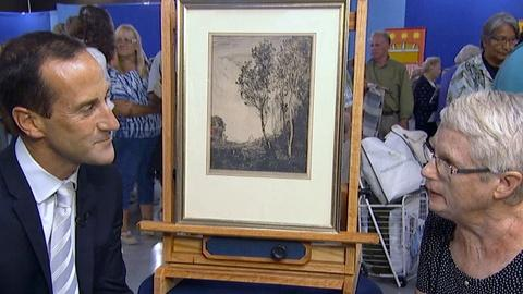 Antiques Roadshow -- S17 Ep17: Appraisal: Jean-Baptiste-Camille Corot Etching
