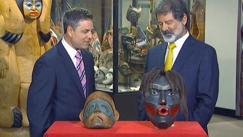 Antiques Roadshow -- S17 Ep18: Field Trip: Masks at the Burke Museum