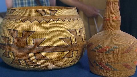 Antiques Roadshow -- S17 Ep18: Appraisal: Tlingit Bottle & Hupa Basket, ca. 1900