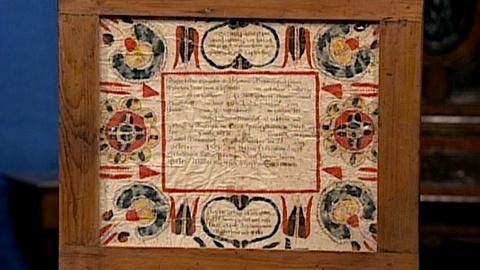 Antiques Roadshow -- S17 Ep22: Appraisal: 1808 Baptismal Certificate