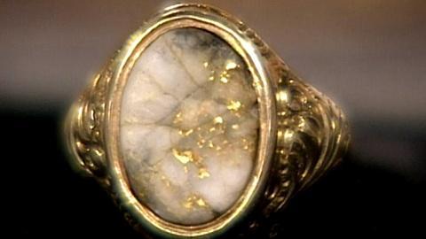 Antiques Roadshow -- S17 Ep22: Appraisal: California Gold Quartz Ring