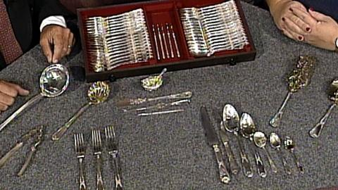 Antiques Roadshow -- S17 Ep22: Appraisal: Silver Service, ca. 1879