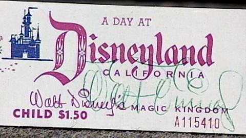 Antiques Roadshow -- S17 Ep22: Appraisal: Walt Disney-Signed Ticket Book