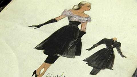 Antiques Roadshow -- S17 Ep22: Appraisal: Edith Head Illustrations
