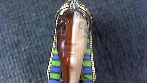 Antiques Roadshow -- S17 Ep24: Appraisal: Egyptian Revival Pin, ca. 1920