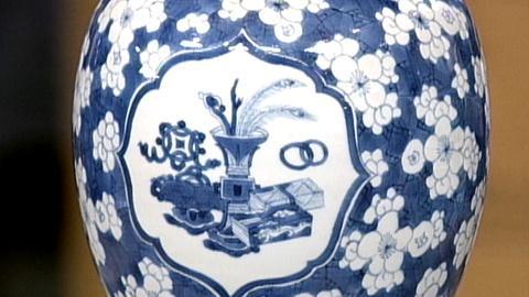 Antiques Roadshow -- S17 Ep24: Appraisal: Chinese Porcelain Jars, ca. 1700
