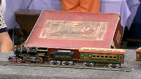 Antiques Roadshow -- S17 Ep24: Appraisal: Ives Toy Train, ca. 1915