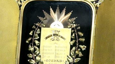 Antiques Roadshow -- S17 Ep24: Appraisal: Tiffany Anniversary Plaque