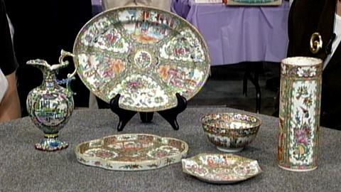 Antiques Roadshow -- S17 Ep24: Appraisal: Chinese Rose Medallion Porcelain