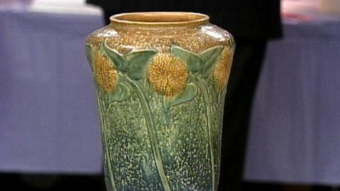 Antiques Roadshow -- S17 Ep24: Appraisal: Roseville Sunflower Vase, ca. 1925