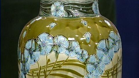 Antiques Roadshow -- S17 Ep24: Appraisal: 1910 Minton Secessionist Vase