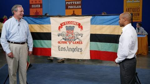 Antiques Roadshow -- S13 Ep12: Appraisal: 1932 Los Angeles Olympic Games Banner