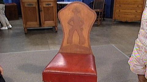 Antiques Roadshow -- S17 Ep25: Appraisal: Thomas Molesworth Chair, ca. 1950
