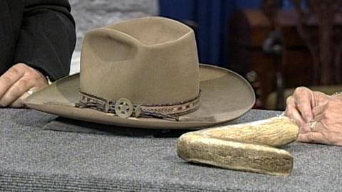 Antiques Roadshow -- S17 Ep25: Appraisal: Stetson Cowboy Hat, ca. 1870