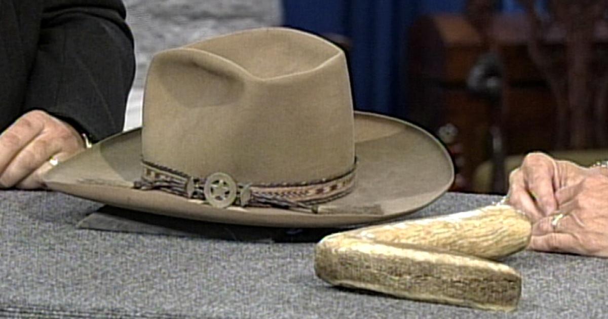 27c4818573a0e7 Appraisal: Stetson Cowboy Hat, ca. 1870 | Season 17 Episode 25 | Antiques  Roadshow | PBS