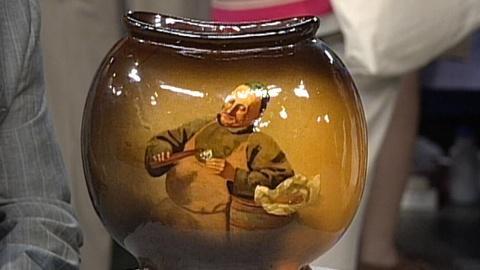 Antiques Roadshow -- S17 Ep25: Appraisal: Owens Pottery Portrait Vase