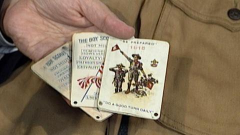 Antiques Roadshow -- S17 Ep25: Appraisal: Boy Scout Uniform & Cards