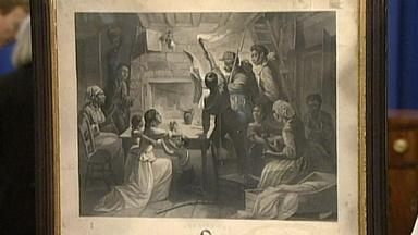 Appraisal: 1864 Emancipation Announcement Print