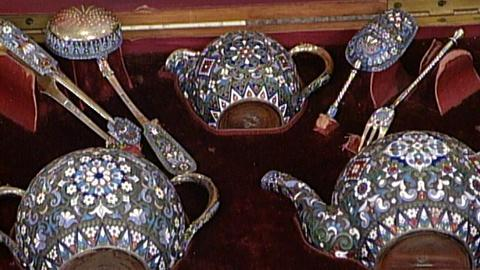 Antiques Roadshow -- S17 Ep26: Appraisal: 1892 Russian Tea Service