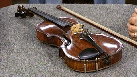 Antiques Roadshow -- S17 Ep26: Appraisal: Violin and Pfretzschner Bow