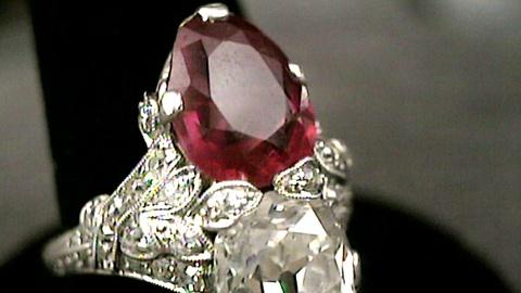 Antiques Roadshow -- S17 Ep27: Appraisal: Art Deco Diamond and Ruby Jewelry, ca.
