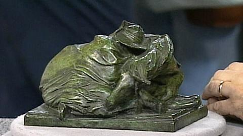 "Antiques Roadshow -- S17 Ep27: Appraisal: Solon Borglum ""Blizzard"" Bronze, ca. 19"