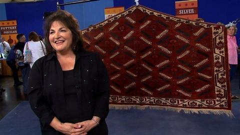 "Antiques Roadshow -- S15 Ep5: Owner Interview: Tekke ""Animal Tree"" Rug"