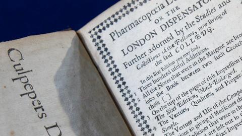 Antiques Roadshow -- S15 Ep17: Appraisal: 1659 Nicholas Culpeper