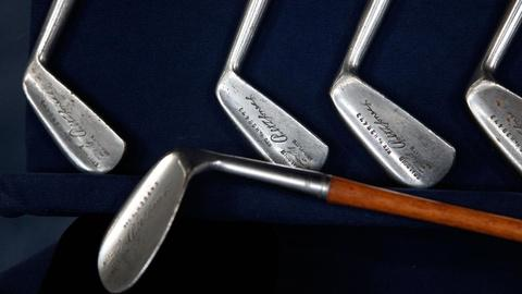 Antiques Roadshow -- S15 Ep5: Appraisal: Bobby Jones Hickory-Shafted Clubs, ca. 1