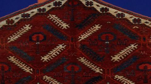"""Antiques Roadshow -- S15 Ep5: Appraisal: Tekke """"Animal Tree"""" Asmalyk Rug, ca. 180"""