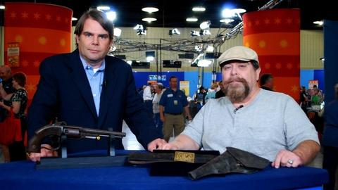 Antiques Roadshow -- S16 Ep3: Web Appraisal: 1860s Savage Revolver & Holster and