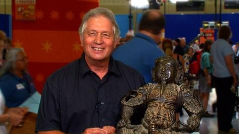 Antiques Roadshow -- S16 Ep3: Owner Interview: Chinese Cast Bronze Guardian Figur