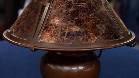 Antiques Roadshow -- S15 Ep5: Appraisal: Dirk Van Erp Copper Lamp, ca. 1925