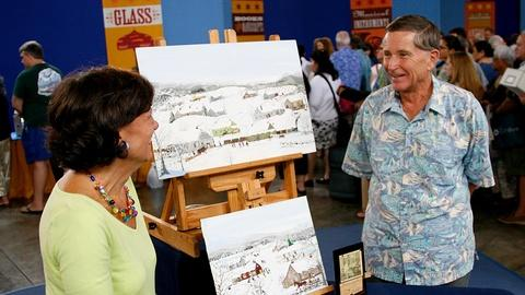 Antiques Roadshow -- S11 Ep3: Appraisal: 1967 Forrest Moses Paintings