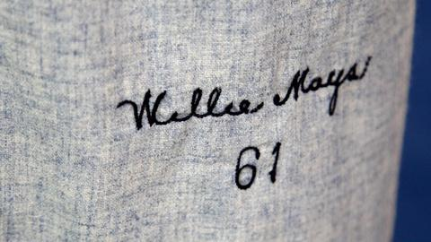 Antiques Roadshow -- S16 Ep15: Appraisal: 1961 Willie Mays Away Jersey & Pants